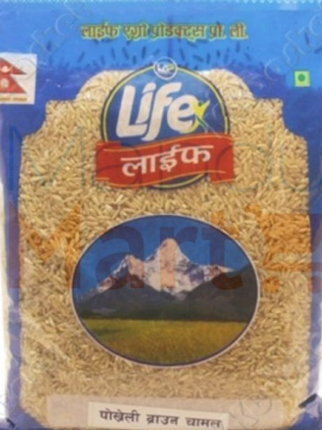 Life Pokhrely Brown Rice 1 Kg