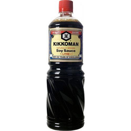 KIKKOMAN naturally Brewed Soy Sauce 1 litre