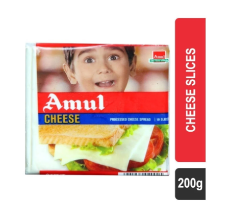 Amul Cheese Slices - 200 g