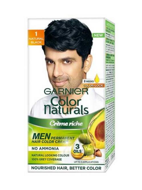 Garnier Color Naturals Men, Natural Black, 30 ml+30 gm