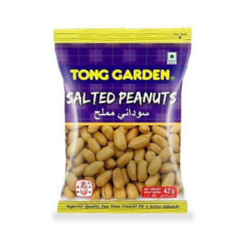 Tong Garden Salted Peanuts, 42 gm