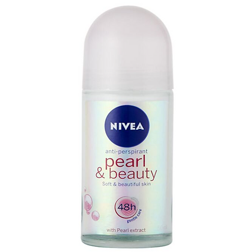 Nivea Pearl & Beauty Anti Perspirant Deodorant Roll On 50 ml