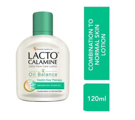 Lacto Calamine Combination to Normal Skin Face Lotion