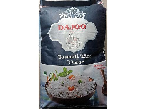 White Rice dajoo dubar basmati rice - 25 Kg