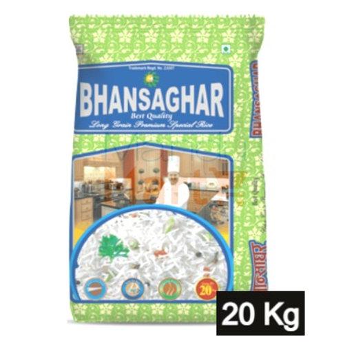 Bhansaghar Premium Long Grain Rice 20 Kg