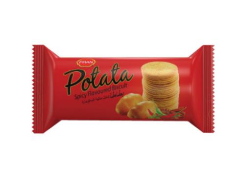 PRAN Potato Spicy Flavoured Biscuits - 100 gm