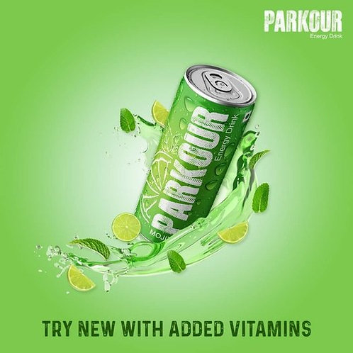 Parkour Mojito Energy Drink