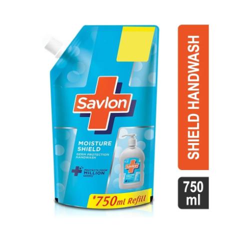 Savlon Moisture Shield Germ Protection Liquid Hand wash (Refill Pouch)
