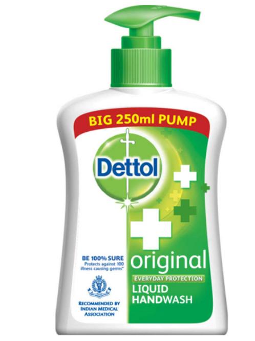 Dettol Liquid Original Hand Wash 250 ml