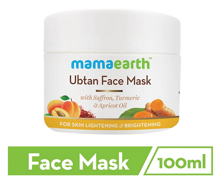 Ubtan Face Mask for Skin Lightening & Brightening, 100 ml