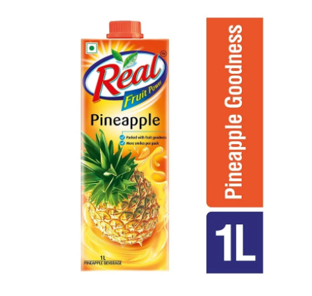Real Fruit Power Pineapple Juice