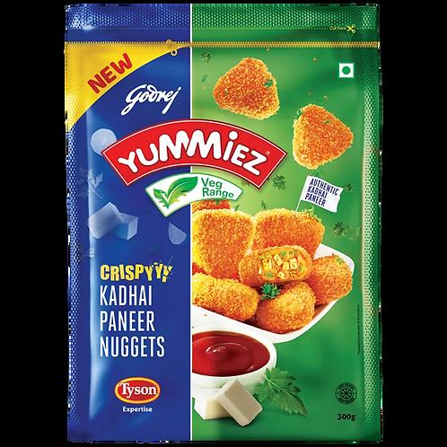 Yummiez Crispy Kadhai Paneer Nuggets, 300 gm