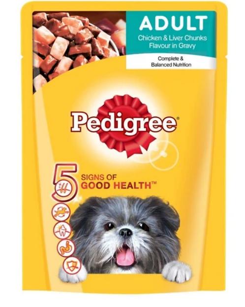 Pedigree Adult Wet Dog Food Gravy - 70 g