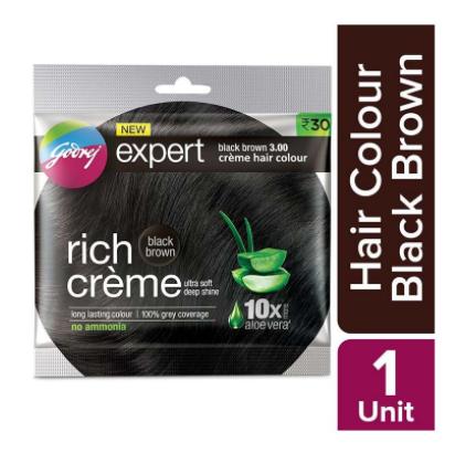 Godrej Expert Rich Creme Black Brown Hair Colour