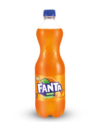 Fanta Orange Flavoured Soft Drink (Bottle)
