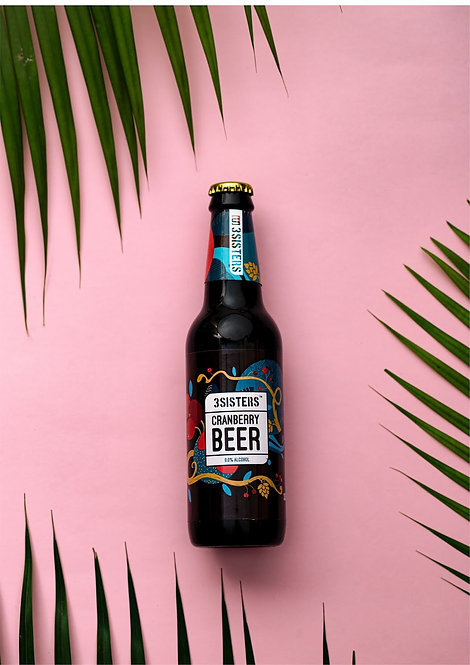 Zero Alcohol Cranberry Beer - 330 ml