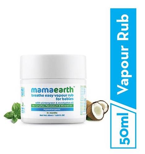mamaearth Natural Breathe Easy Vapour Rub Balm - 50 ml