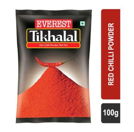 Everest Tikhalal Red Chilli Powder - 100 g