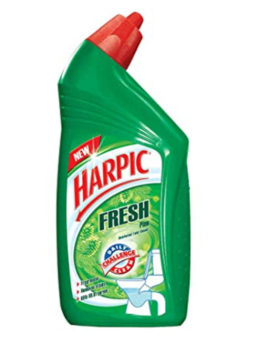 Harpic Fresh Pine Disinfectant Toilet Cleaner, 500 ml