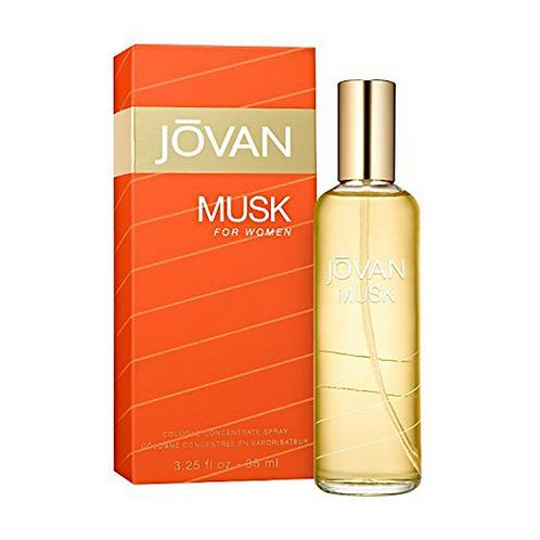 Jovan Musk Eau De Cologne For Women, 96 ml