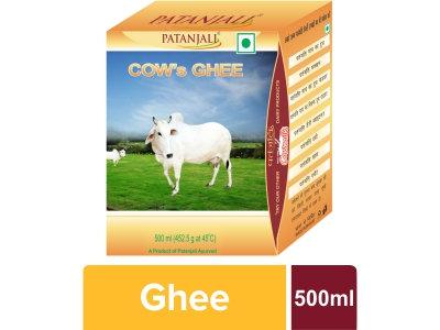 Patanjali Cow's Ghee - 500 gm