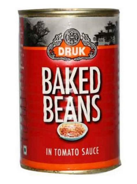 DRUK Baked Beans in Tomato Sauce 450 gm