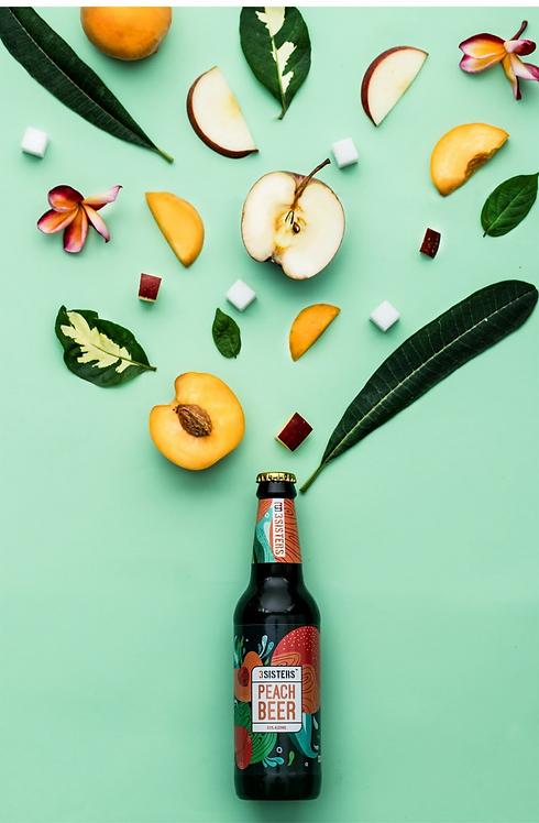 Zero Alcohol Peach Beer - 330 ml