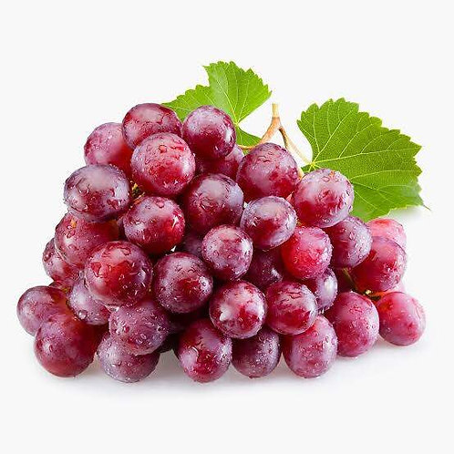 Imported Red Grapes  - 500 gm