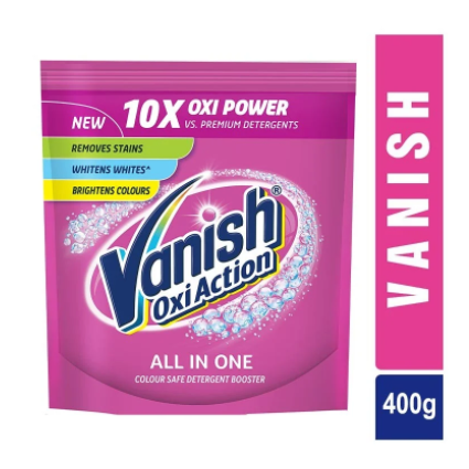 Vanish Oxi Action Powdered Stain Remover (Pouch)