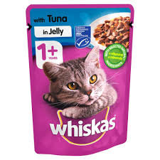 Whiskas Tuna in Jelly - 85 gm
