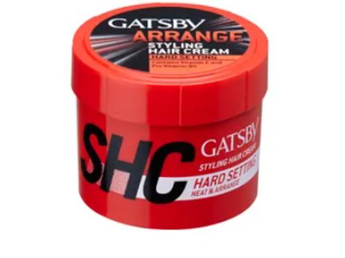 Gatsby Styling Hair Cream Hard Setting - 250 gm
