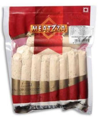 Meatzza Chicken Black Pepper Sausages 500g