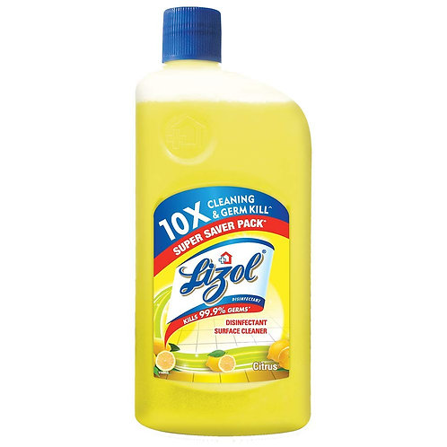 Lizol Disinfectant Surface Cleaner Citrus, 500 ml