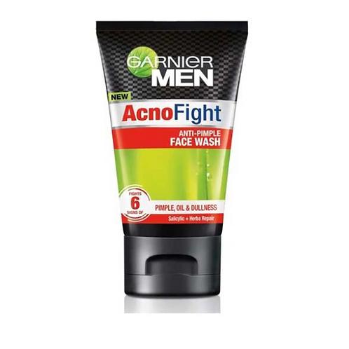 Garnier Men Acno Fight Face Wash for Men, 100 gm (Anti-Pimple Face Wash)