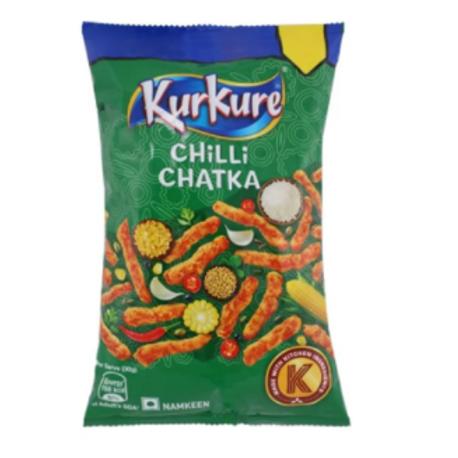 Kurkure Chilli Chatka, 80 gm