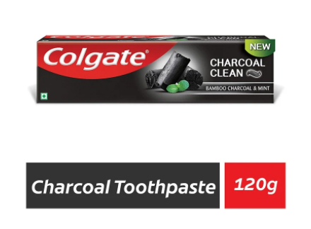 Colgate Bamboo Charcoal clean and Mint (Black Gel) Toothpaste