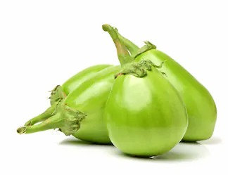 Green Brinjal - (Egg Plant) - 500 gm