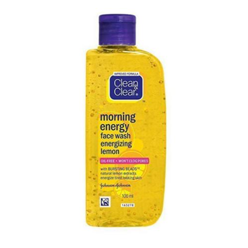 Clean & Clear Morning Energy Face Wash Lemon, 100 ml