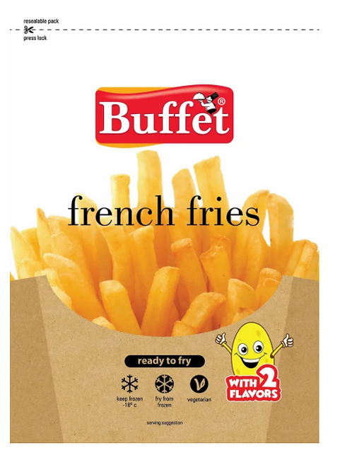 Buffet French Fries - 420 gms