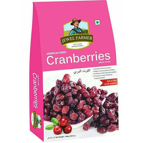 JEWEL FARMER (Cranberries) American Dried 250g