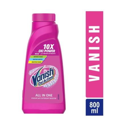Vanish Oxi Action Liquid Stain Remover (Bottle)