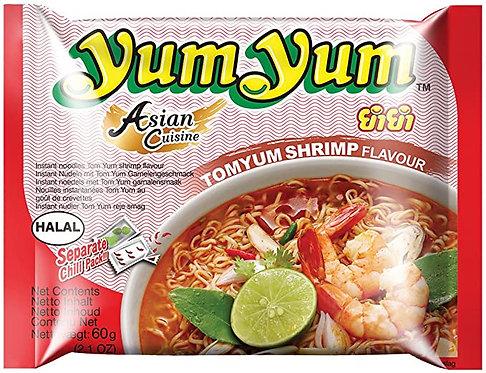 Yum Yum Tomyum Shrimp Flavour-  60g - Product of Thailand