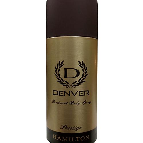 Denver Deodorant Body Spray (prestige Hamilton) 165 ml