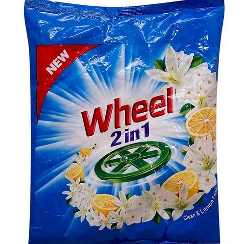 Active Wheel 2 in 1 Clean & Lemon Fresh Detergent Powder 200 gm