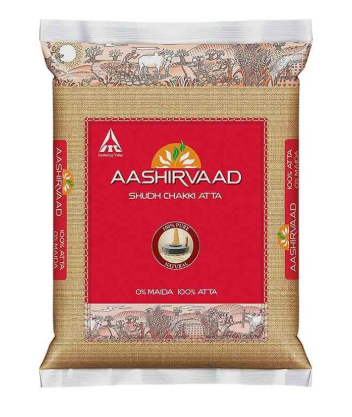 Aashirvaad Shudh Chakki Whole Wheat Atta - 5 Kg