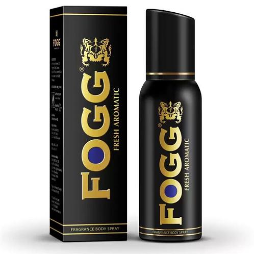 Fogg Black Fresh Aromatic Body Spray Deodorant - For Men, 120 ml