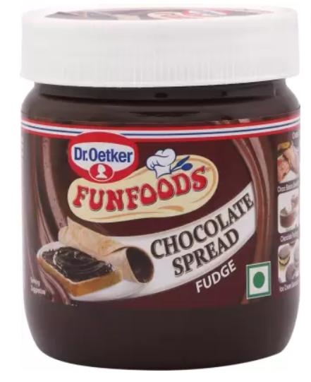 Fun Foods Chocolate Spread Fudge 350 gm