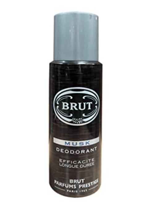 Brut Musk Deodrant Efficacite Logne Duree 200 ml