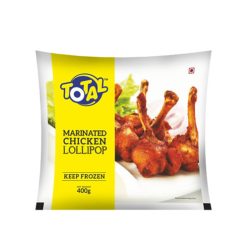 Total  Marinated Chicken Lollipop 400g
