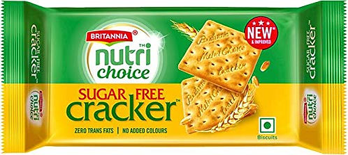 Nutichoice - Sugar Free Cracker - 300 g